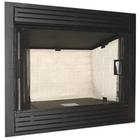 Monessen Gcuf42c-r 42-inch Louvered Circulating Vent-free Firebox With Refractory Firebrick (Gas Fireplace Insert 42 compare prices)