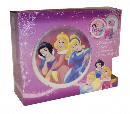 Disney Princess: Porcelain Breakfast Set - 3pcs Bowl, Plate & Mug