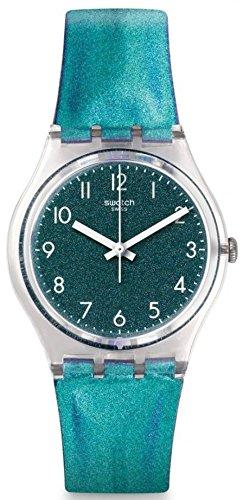 swatch-womens-34mm-purple-leather-band-plastic-case-swiss-quartz-analog-watch-ge245