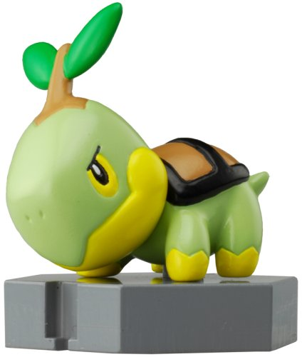 "Pokemon Diamond & Pearl Moncolle Plus - Turtwig (P-2) 2"" Figure - 1"