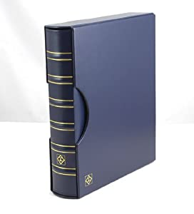 Lighthouse Classic GRANDE Binder with Slipcase, Blue