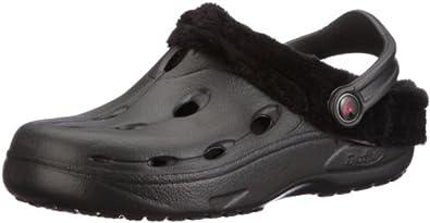 Chung Shi DUX Winter schwarz mit schwarzem Futter, Unisex-Erwachsene Clogs, Schwarz (schwarz), 38 EU