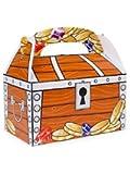Fun Express Treasure Chest Treat Boxes (1 Dozen), Bulk