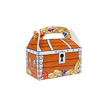 Set A Shopping Price Drop Alert For Treat Boxes, Treasure Chest Design (1 dz)