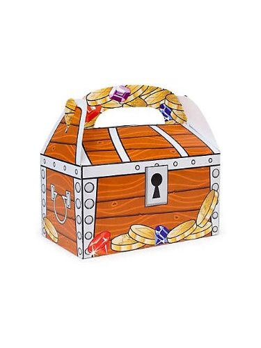 Treat Boxes, Treasure Chest Design (1 dz)