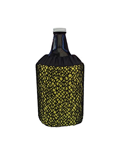Growler Cooler (Standard 64Oz) Yellow Netty front-560925
