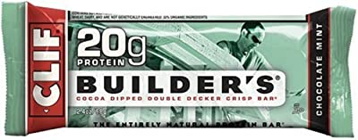 Clif Builder&#8217;s Bar, Protein Bar, 2.4-Ounce Bars