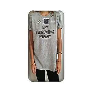 StyleO Samsung Galaxy On7 Designer Printed Case & Covers (Samsung Galaxy On7 Back Cover) - Overreacting Quote