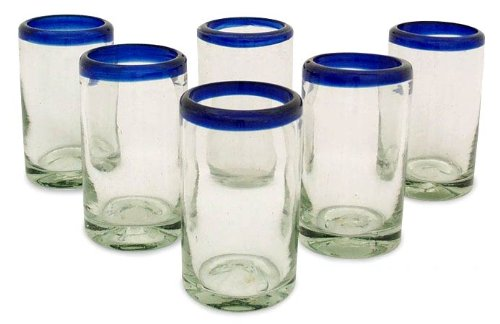 Glass Sets Juice Glasses Juice Glasses 'cobalt' Set