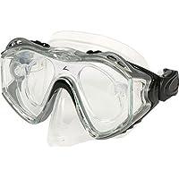 Anti-fog Waterproof Diving Swim Goggles Diving Glasses Face Mask Eyewear Tempered Glass Lens - B01JZ92TE6