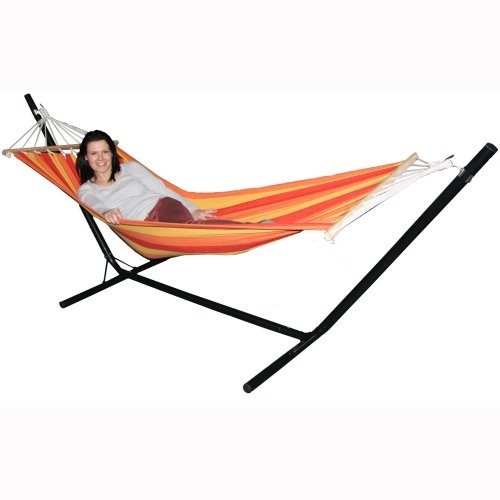 Redstone Garden Hammock + Stand - Huge 6ft 10