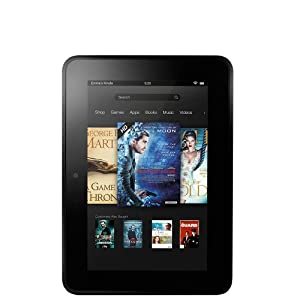 """Kindle Fire HD 7"""", Dolby Audio, Dual-Band Wi-Fi, 16 GB - Includes Special Offers [Previous Generation]"""