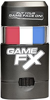NCAA Gonzaga Bulldogs GameFX Sports Face Paint, Dispenser, Red/White/Blue
