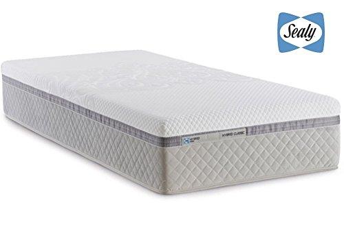 Tempur Sealy ibrida scatola classico materasso a molle 100 x 200 cm 29 cm altezza Gel Memory Foam e Federken