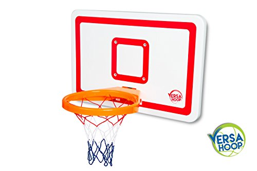 VersaHoop-PLUS-Mini-Basketball-Set-for-Trampoline-RV-Boat-Tailgating-Red-Lines