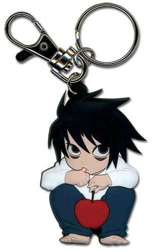 Death Note L Chibi PVC Portachiavi