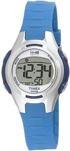 Timex Women's T5K079 1440 Sports Digital Light Blue Resin Strap Watch from Timex