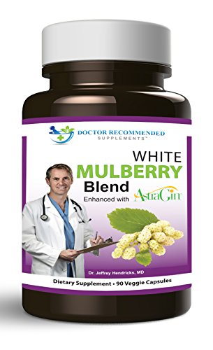 Doctor Recommended White Mulberry Blend Weight Loss Supplement, 90 Count