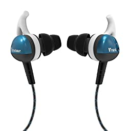 Venstone X2 Sport Headphones Sweat-proof Resistant Noise Isolating Earphones Button Control with Microphone Earbuds