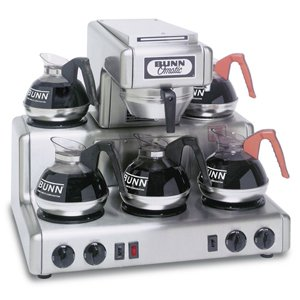 Bunn Rt Automatic Coffee Brewer W/ 5L Warmers