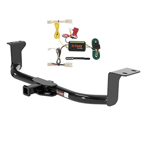 CURT Class 1 Trailer Hitch Bundle with Wiring for 2012-2015 Toyota Prius V - 11276 & 56156 (Trailer Hitch Toyota Prius compare prices)