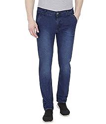 Frankline slimfit jeans (32, Blue)