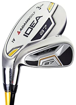 Adams Golf A7 Irons, Set of 8 (Men's, Left-Handed, 3-PW, UST Axiv Core and True Temper Performance Lite Regular Shaft) at Sears.com