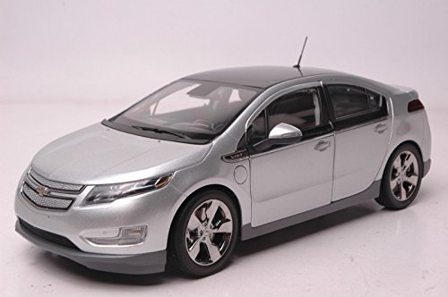 Silver 1/18 GM Chevrolet Chevy Volt Sportback Electric Vehicle Alloy Model Car Toy Miniatures Collection Gifts Vehicle (Chevy Volt Model compare prices)