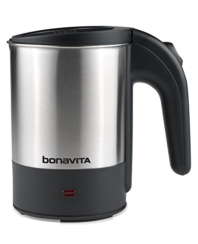 Bonavita - Dual Voltage 0.5L Travel Electric Kettle, 700W heating element (Mini Electric Tea Kettle compare prices)