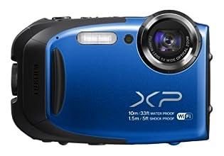 FUJIFILM コンパクトデジタルカメラ XP70BL ブルー F FX-XP70BL