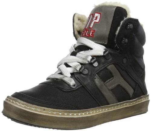 Hip - Illy Ankle Bootee Laces Hip, Sneakers infantile, Nero (black - combi), 33