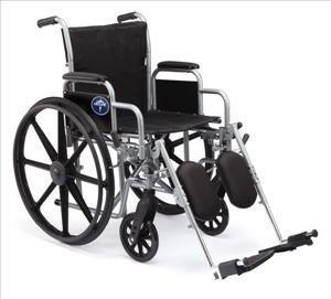 Medline Excel 2000 Econ Plus Elevating Wheelchair,