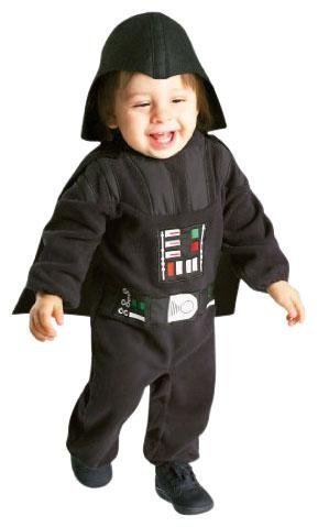 Rubie's Costume Star Wars Darth Vader Romper, Black, 12-24 Months