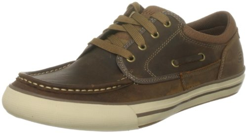 Skechers Men's Planfix Creons Sneaker Brown UK 9.5