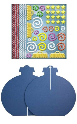 Karen Foster Design Kids Kraft-It Kit Ornament