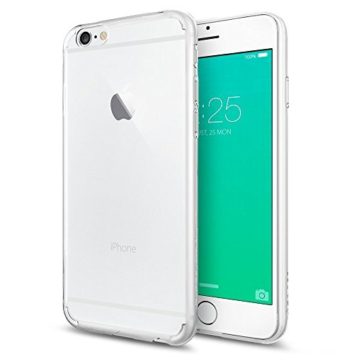 Spigen iPhone6s Plus ケース / iPhone6 Plus ケース, リキッド・クリスタル [ ソフトTPU クリア] アイフォン6s プラス / 6 プラス 用 (クリスタル SGP11642)