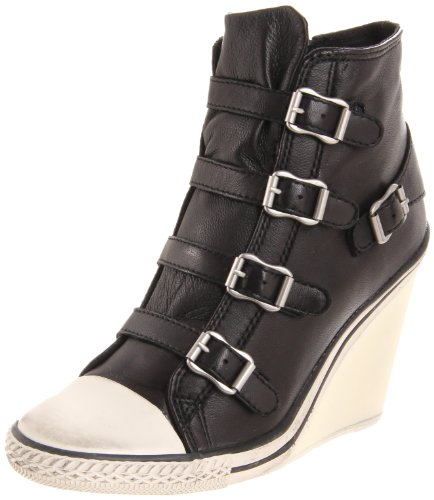 Rev Ash Women's Thelma Fashion Sneaker, Black, 38 EU/8