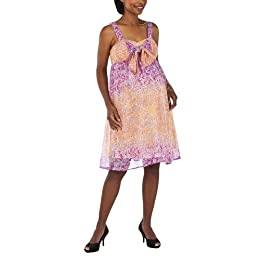 Product Image Liz Lange® for Target® Maternity Chiffon Bubble Print Ruffle Dress - Pink