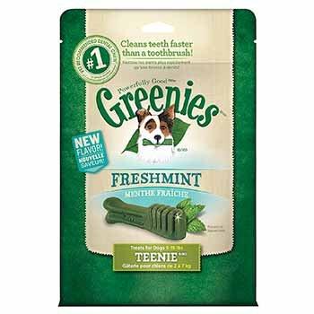 Greenies Freshmint Dental Dog Treats 12 oz. Teenie For Pets