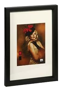 HR-52 Holz Bilderrahmen 10x15 bis 40x50 cm Naturfarben 6 Größen Foto Rahmen: Farbe: Schwarz | Format: 13x18