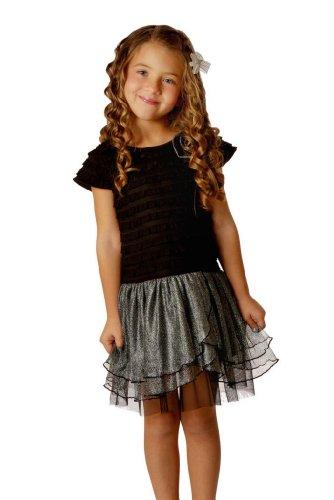 Happy Mermaid Girls Tutu Dress 4T Black Gray - Douglas J. Keeneeze be83d413f
