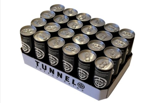 Tunnel Energy Drink can 250 ml [Pack of 24]
