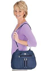 9-Pocket Denim Handbag Set