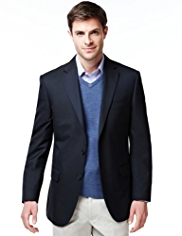 Notch Lapel 2 Button Blazer