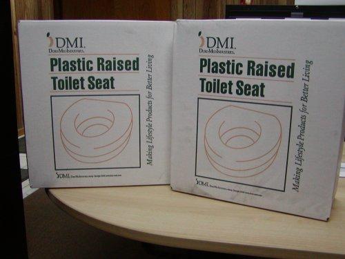 HealthSmart WC-Sitzerhöhung de Luxe Kunststoff weiß