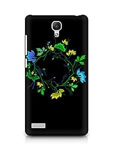 Amez designer printed 3d premium high quality back case cover for Xiaomi Redmi Note Prime (Abstract Dark 36)