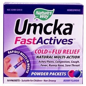 UMCKA FAST ACT,C&F,BERRY pack of 4