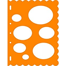 Fiskars Orange Shape Template(TM) - Ovals