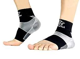 Plantar Fasciitis Socks (1-pair), Best Plantar Fasciitis Compression for Man & Woman-Heel Arch Support/ Ankle Sock(Medium)