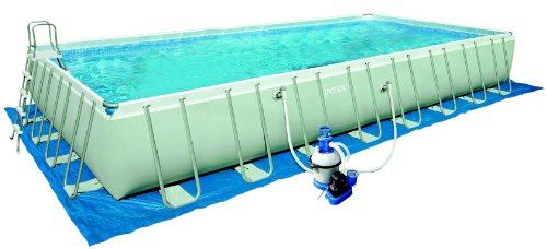 Intex pool komplett set intex 12 54986 ultra quadra iii for Komplett pool